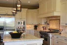 kitchen stone backsplash with white cabinets eiforces