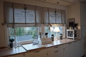 Kitchen Drapery Ideas French Country Kitchen Curtains Ideas Using Creative Kitchen