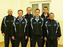 von links: Ralf Holzmann, Frank Elberskirch, Thomas Weiler, Udo Mühlhausen, Ralf Dierdorf, Frank Best - tt1Mannschaft