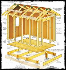beautiful shed plans 8 x 12