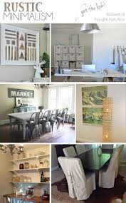 Home Parties Home Decor by Rustic Minimalism Get The Look Sundays At Home No 22 Link Party