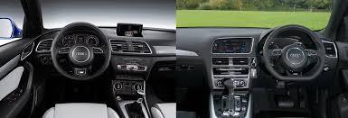 lexus vs audi q3 audi q3 vs audi q5 u2013 side by side uk comparison carwow