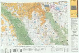 Colorado Unit Map by Co Surface Management Status Canon City Map Bureau Of Land