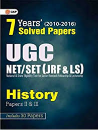 Buy UGC Net Set  JRF  amp  LS    History Paper    amp     Old Edition
