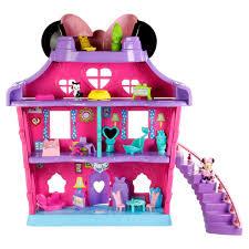 Minnie Mouse Toy Box Dollhouses Dollhouse Furniture Kmart