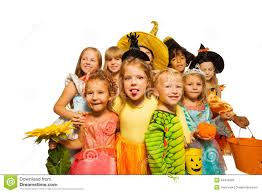 funny kids in halloween costumes stock photo image 44416099