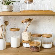 wooden kitchen canisters promotion shop for promotional wooden