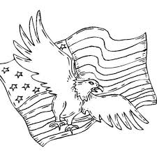 free patriotic coloring sheets for children with patriotic symbols