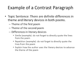 compare or contrast essay topics compare contrast essay writing
