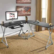 Xbox Gaming Desk by Best Choice Products Wood L Shape Corner Computer Desk Pc Laptop