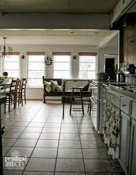 budget window treatments kitchen update prodigal pieces farmhouse industrial style kitchen remodel update by prodigal pieces www prodigalpieces com