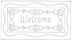 welcome coloring pages www bloomscenter com
