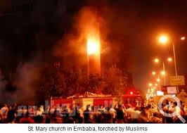 Muslim Mobs Burn Churches, 12 Killed in Riots Against Coptic