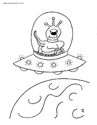 alien free coloring pages on art coloring pages