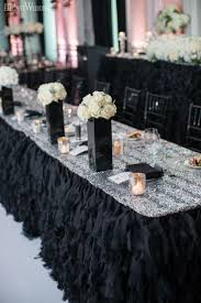 black and white wedding decorations reception images wedding