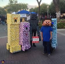 Halloween Minecraft Costume 24 Cheap Easy Diy Group Costumes Halloween Twistedsifter