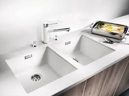 White Kitchen Sink Undermount : rectangle white Kitchen Sink
