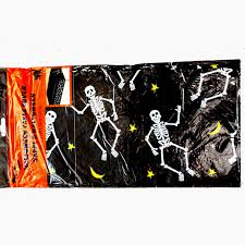 halloween table cloth realistic dead pet zombie skeleton pit bull dog creepy halloween