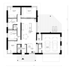 bungalow style house plan 3 beds 3 00 baths 1954 sq ft plan 906 13