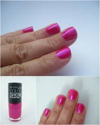 maybelline color show nail lacquer crushed candy my highest self