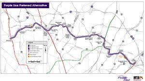 Los Angeles Light Rail Map by Seven Things To Know About The New Purple Line Agreement