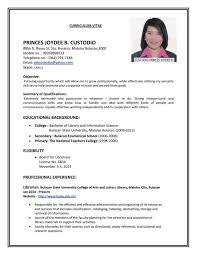 Resume Sample Pdf Free Download by Basic Job Resume Samples Sample Resume123