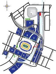 Chicago Parking Map by Baltimore Ravens M U0026t Bank Stadium Directions U0026 Parking