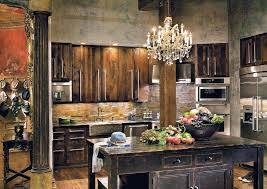 Rustic Kitchen Backsplash Unbelievable Rustic Contemporary Kitchen Kitchen Bhag Us