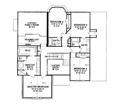 european style house plan 4 beds 3 50 baths 3222 sq ft plan 20 1100