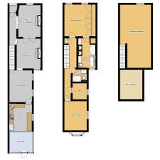 at long last floor plans for our home old town home