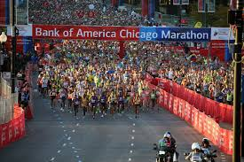 Chicago Line Map by Chicago Marathon Map Details For The 2016 Edition Chicago Tribune