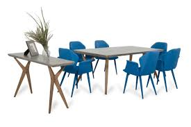 Concrete Dining Room Table Modrest Dondi Concrete Dining Table