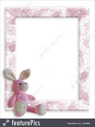 baby bunny background or easter card