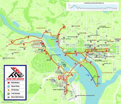 Washington Traffic Map by Traffic Alert Marine Corps Marathon Road Closures On Sunday