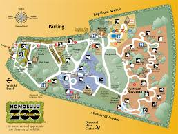 Phoenix Zoo Map by Maps Update 700937 Honolulu Tourist Attractions Map U2013 9 Toprated