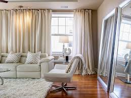 Windows Treatment Ideas For Living Room by 10 Apartment Decorating Ideas Hgtv