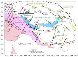 Tectonic Plate Map Plate Tectonics Earthjay Science Page 9