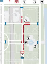 Chicago Parking Map by Taste Of Chicago 2017 Guide Check Out Menus Maps Performances