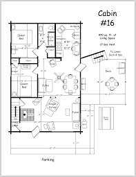 cabin floor plans home design ideas