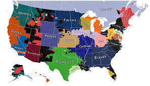 Detroit Michigan Map by Map Shows The Detroit Tigers Own The Hearts Of Almost All Of Michigan