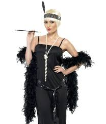 1920 Halloween Costumes Women U0027s Black Flapper Costume Cheap 1920 U0027s Flapper Costumes