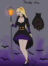 link halloween aphrodite deadly kiss halloween skin concept