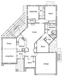 modern american home plans design images a90as 7443