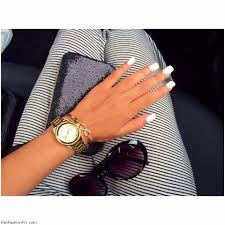 white nails and artistic nail styles online women magazine