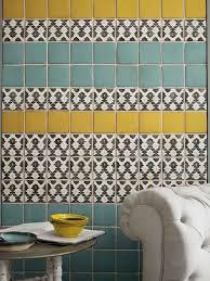 Backsplash Bathroom Ideas Colors 25 Best Yellow Tile Ideas On Pinterest Yellow Bath Inspiration