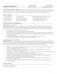 Retail Manager Resume Sample  management resume  production