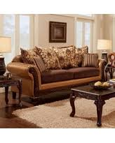 Sofa With Wood Trim by Spring Into Savings On Bowdle Collection Sm6301 Sf 93
