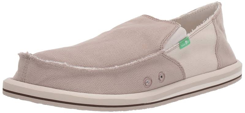 Sanuk Vagabond Hemp Shoes Beige- Mens