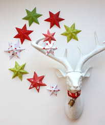 Homemade Christmas Decorations by 50 Diy Paper Christmas Ornaments To Create With The Kids Tonight