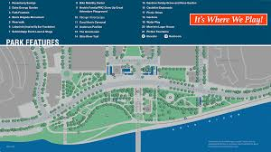 Ohio State Parks Map Smale Riverfront Park Map U0026 Walking Tour Cincinnati Parks Foundation